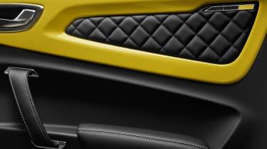 Alpine A110 Color Edition - door panel design