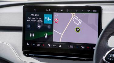 Skoda Enyaq iV SUV - infotainment
