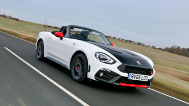 0-62mph happens in 6.8 seconds and a 144mph top speed is possible