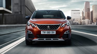The 3008 uses chrome to subtle effect to being life to the exterior