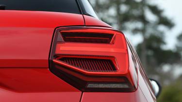 Audi SQ2 SUV rear light