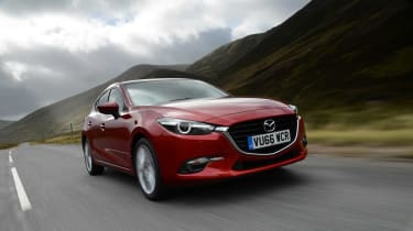 We reckon the Mazda3 is among the very best looking hatchbacks