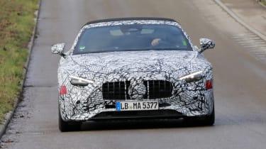 2021 Mercedes SL prototype - front end
