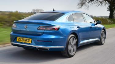 Volkswagen Arteon driving - rear