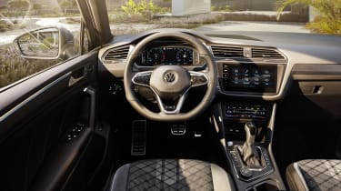 Facelifted Volkswagen Tiguan interior