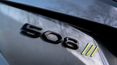 Peugeot 508 SW Sport Engineered badge