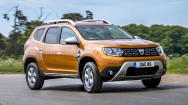 Dacia Duster 2018 cornering