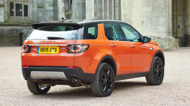Land Rover Discovery Sport HSE - rear static