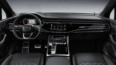 Audi SQ7 TDI - Interior Wide Angle View