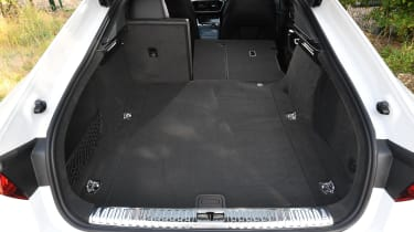 Audi S7 hatchback boot
