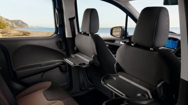 Ford Tourneo Courier rear seat trays