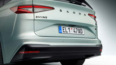 2021 Skoda Enyaq iV - rear close up