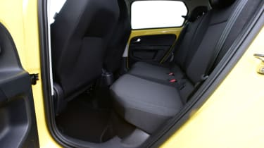 Skoda Citigo e iV hatchback rear seats