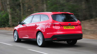 The Focus Estate isn't short of rivals like the Skoda Octavia Estate, Vauxhall Astra Sports Tourer and SEAT Leon ST