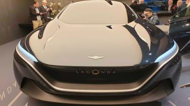 Lagonda All-Terrain SUV concept Geneva front