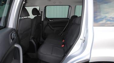 Skoda Yeti rear seats
