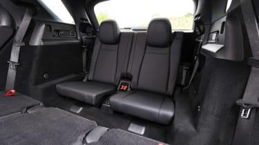 Mercedes GLE SUV third row seating