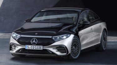 2021 Mercedes EQS front 3/4 static