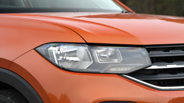 Volkswagen T-Cross SUV headlights