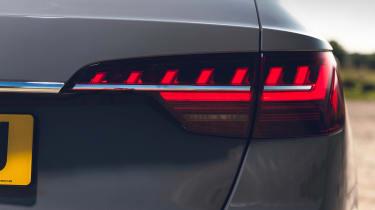 Audi S4 Avant estate rear lights