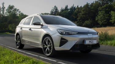 New MG 5 EV front