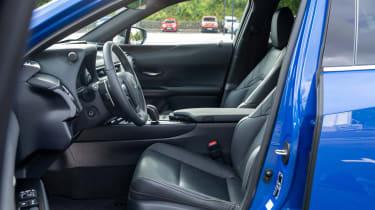Lexus UX 300e SUV steering wheel