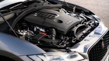 Jaguar F-Pace SUV engine bay