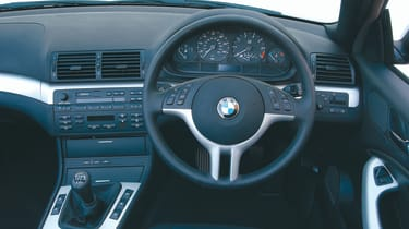 BMW 3 Series convertible - interior
