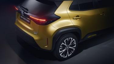 Toyota Yaris Cross SUV - rear c-pillar