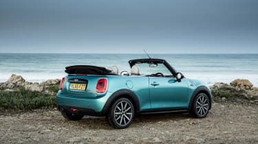 It doesn't have many rivals, with the DS 3 Cabrio and Mazda MX-5 roadster being amongst its closest competitors