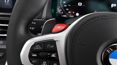 BMW M8 Convertible steering wheel
