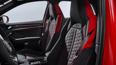 Audi RS Q3 front seats