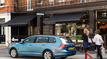 Key rivals for the Golf Estate include the Ford Focus Estate and Vauxhall Astra Sports Tourer