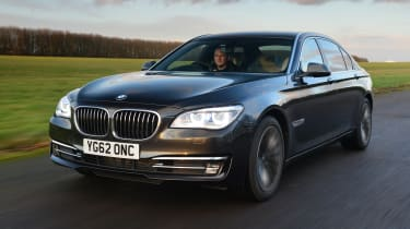 BMW 7 Series - front 3/4 driving