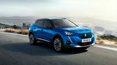 New Peugeot 2008 - front 3/4 dynamic