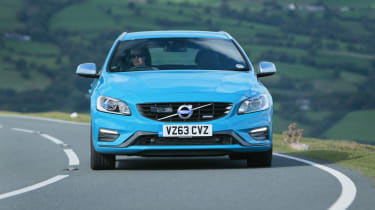 The V60 has plenty of grip in corners and safe, predictable handling but isn't fun to drive