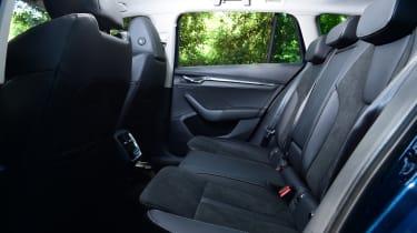 2020 Skoda Octavia Estate - rear seats