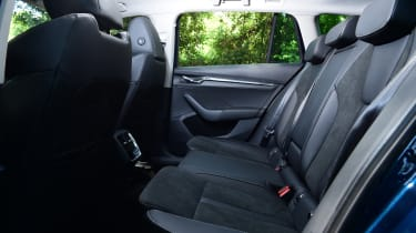 2020 Skoda Octavia Estate - rear seats