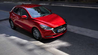 2020 Mazda 2 - static front 3/4 view