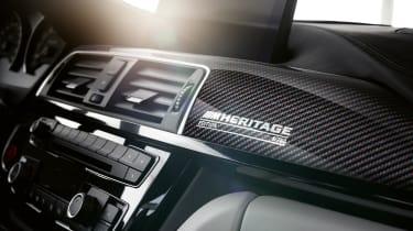 BMW M4 M Heritage Edition carbon fibre trim