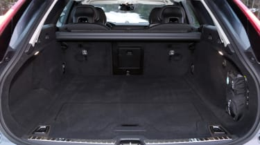 Bootspace is generous, too, though not quite as vast as that offered by the Mercedes E-Class All-Terrain