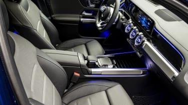 2019 Mercedes GLB - interior side view