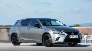 Lexus' CT 200h is a luxury compact hybrid that uses the same technology as the Toyota Prius