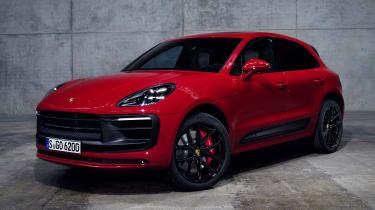 2021 Porsche Macan GTS - front 3/4 static