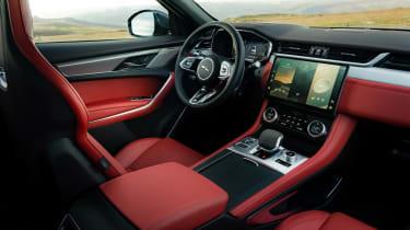 Jaguar F-Pace SUV front seats