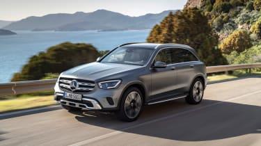 2019 Mercedes GLC SUV - front