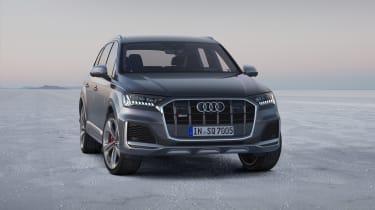 Audi SQ7 TDI - Static front three quarter view