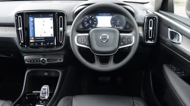 Volvo XC40 SUV interior
