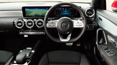 Mercedes A-Class AMG Line - interior and dashboard