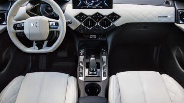 DS 3 Crossback E-Tense pre-production interior